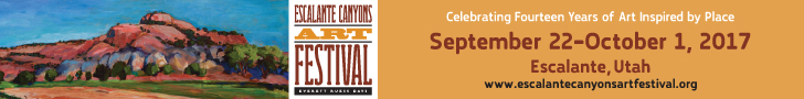 Escalante Arts Festival, 9-22 to 10-1