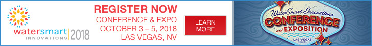 WaterSmart Innovations Conference - October 3 - 5, 2018, Las Vegas, NV