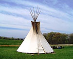 14' Tipi from Colorado Yurts