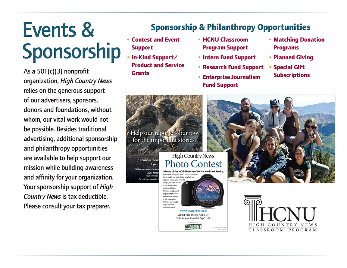 Events & Sponsorship