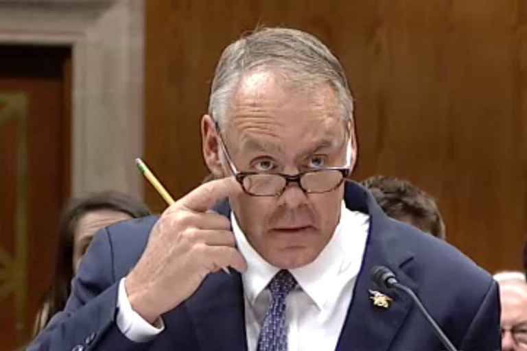 "Zinke: Trump is ""greatest boss in the world"""