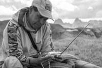 A Peruvian sheepherder in the Colorado Rockies