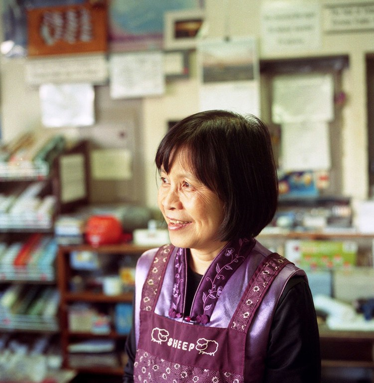 Annie Shen and husband Joe have owned the Anchor Inn since 1979. She says she felt confined in Whittier, until Joe reminded her that Prince William Sound is connected to the Pacific Ocean, eventually lapping up on their native Taiwan.