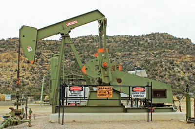 A pumpjack is not a coal mine