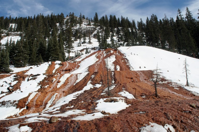 Gold King Mine water was headed for the Animas, anyway