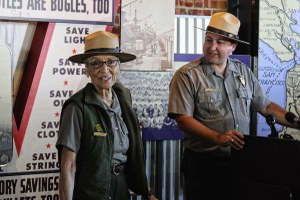 After attack, the country's oldest park ranger is back at work