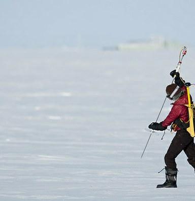 Arctic off-shore drilling hits home in Barrow, Alaska