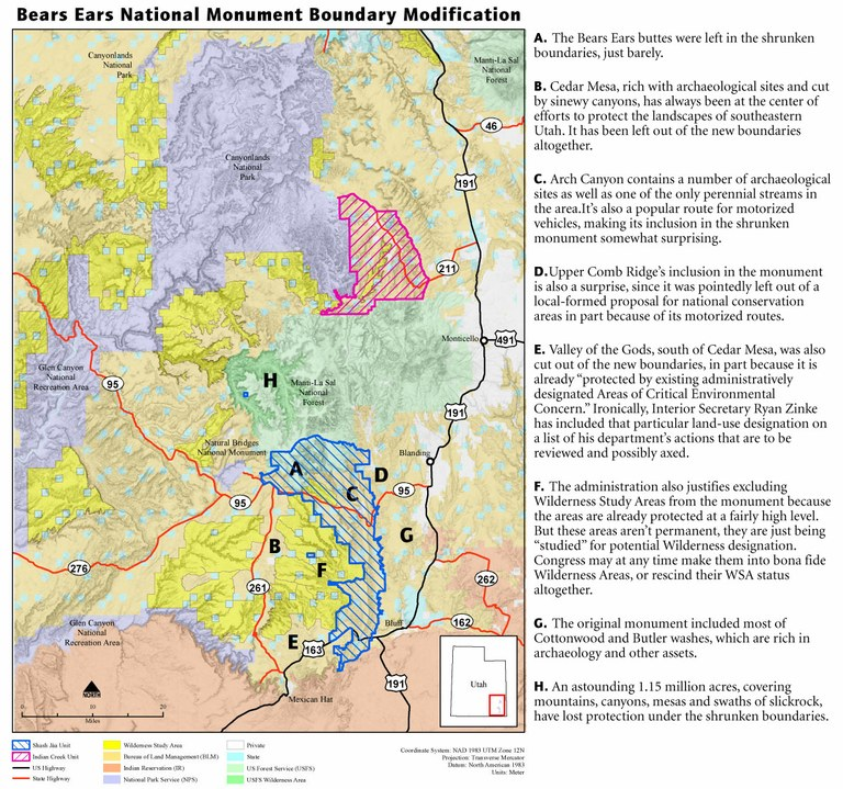 How To Make Sense Of Trump S Changes To Bears Ears High Country News