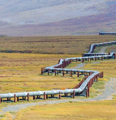 Trans-Alaska pipeline under threat from thawing permafrost