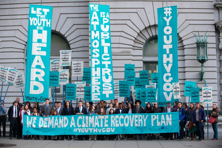 Can 21 young people sue the government over climate change?