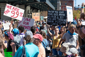 Colorado climate activists protest by spreading disinformation