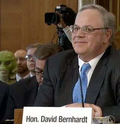 David Bernhardt confirmed as Secretary of the Interior