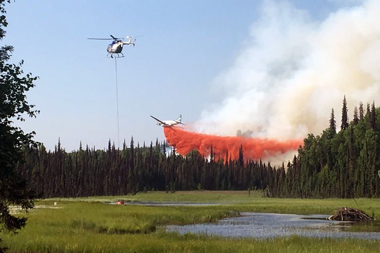 Record heat in Alaska fuels wildfires — High Country News
