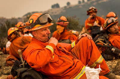 California's incarcerated firefighters face dangerous work, low pay and COVID-19