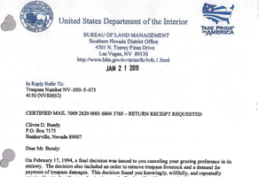 Public Record: Cliven Bundy