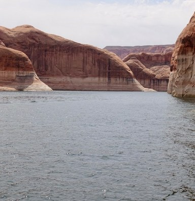 The Colorado River is shrinking because of climate change