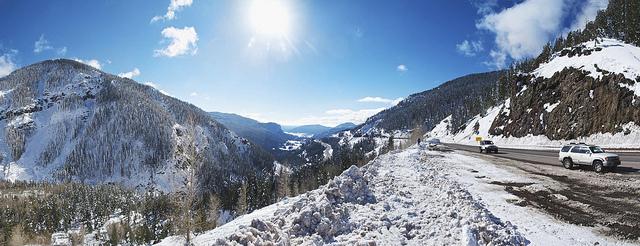 Wolf Creek Pass. COURTESY FLICKR USER ZACH DISCHNER