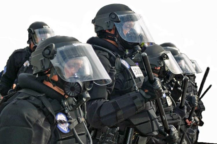 Rural cops get militarized
