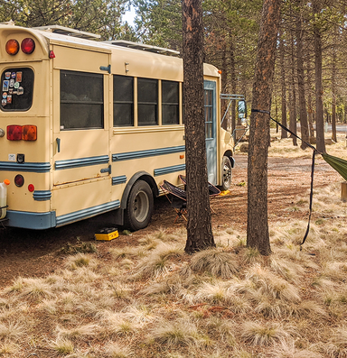 How do you stay at home when you've chosen a life on the road?