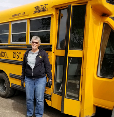 Who will drive school buses during the pandemic?