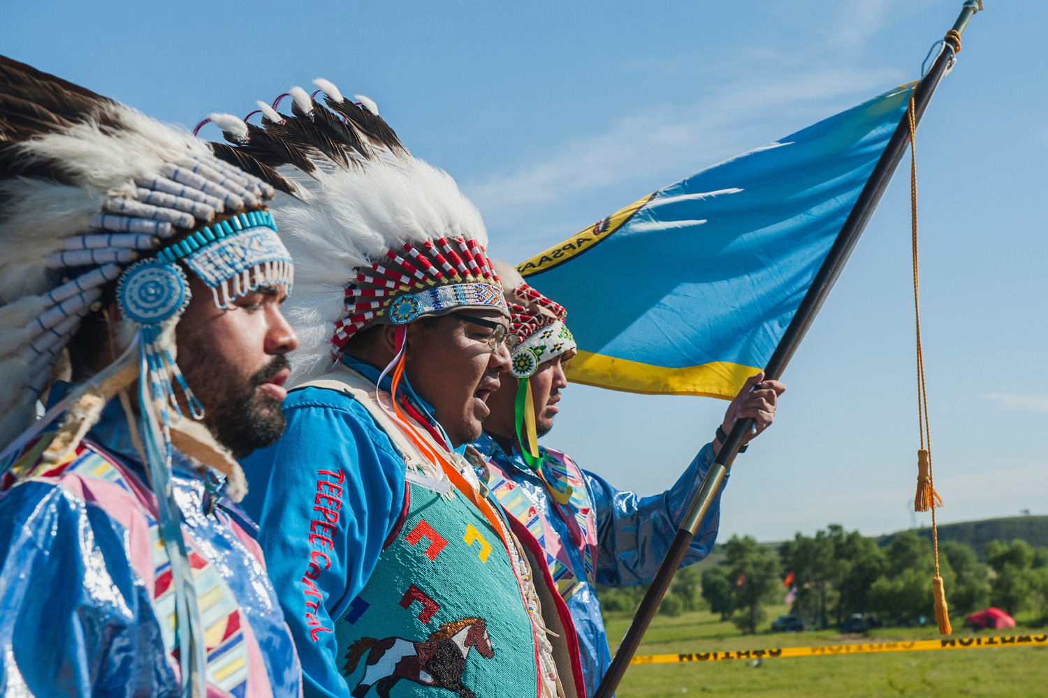 photos of the north dakota pipeline protest u2014 high country news