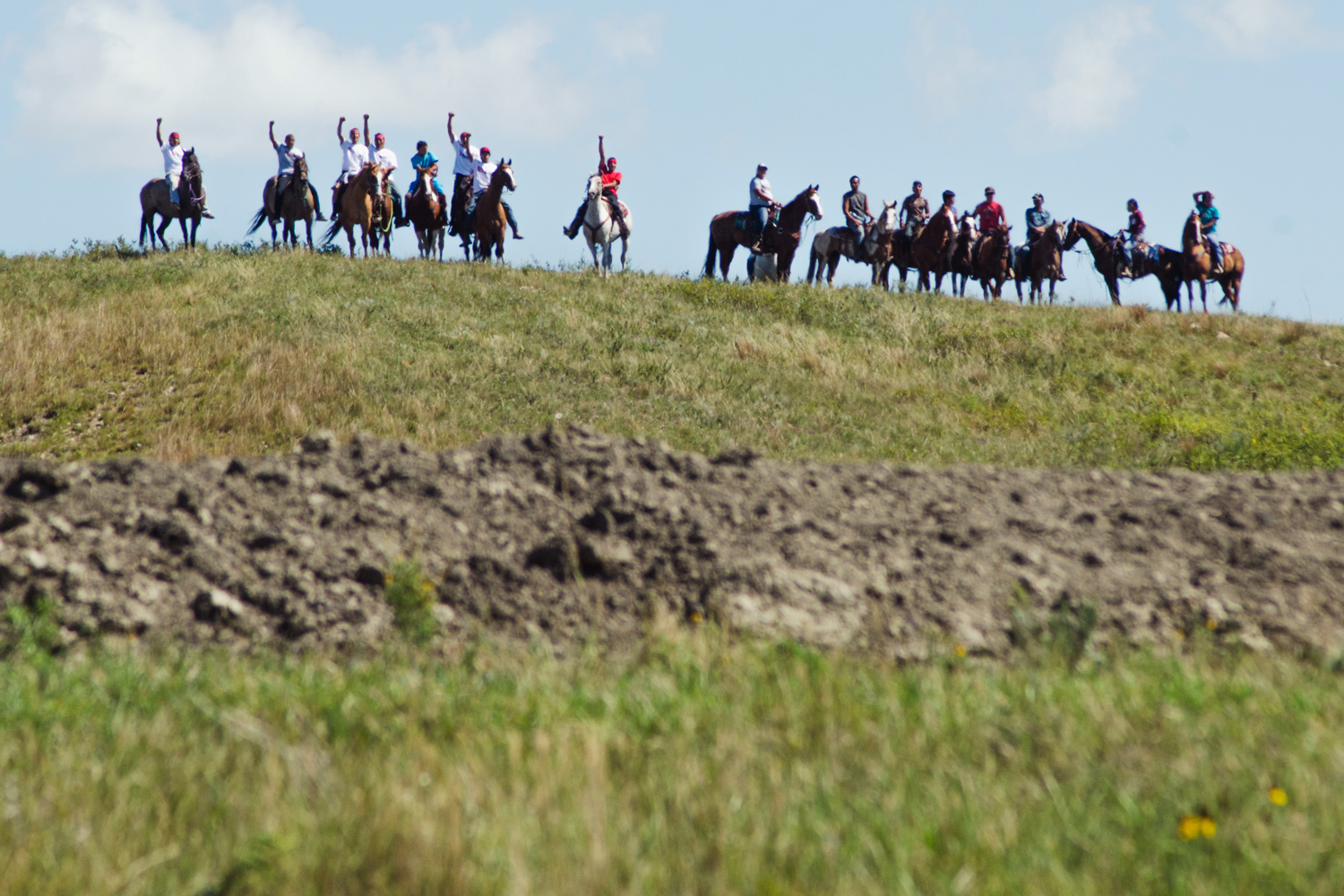 Photos of the North Dakota pipeline protest — High Country News