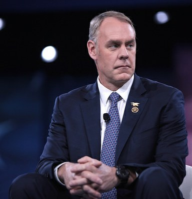 Ryan Zinke to step down as Interior secretary