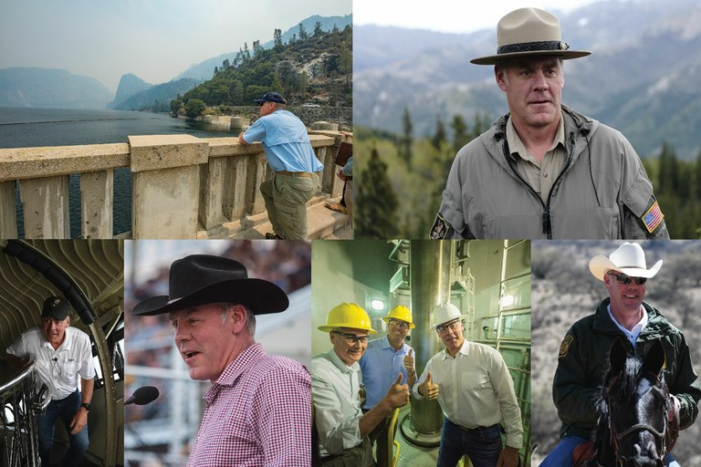 Zinke leaves unfinished business at the Interior Department