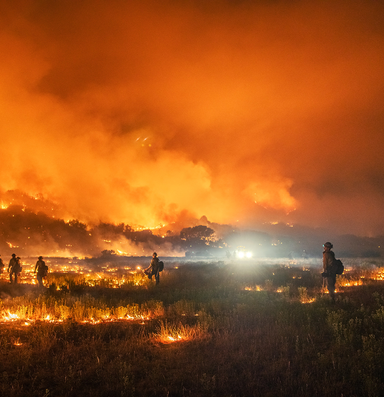 A parched West heads into fire season