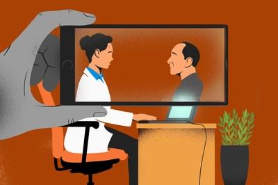 Las visitas médicas virtuales florecen en la era del coronavirus