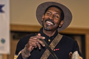 How Shelton Johnson became the Buffalo Soldiers' champion