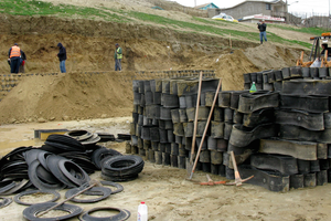 Unwanted California tires end up in rivers and beaches