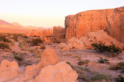 Tule Springs fossil beds would be protected as a national monument. COURTESY NPCA