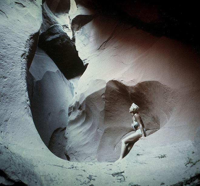 Katie Lee in Glen Canyon