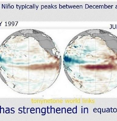 Hopes high for a 'Super' El Niño