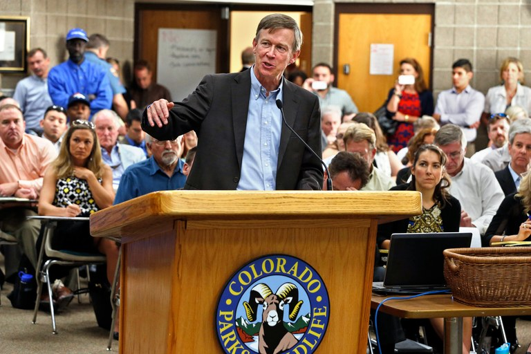 Can Hickenlooper get his middle-of-the-road magic back?
