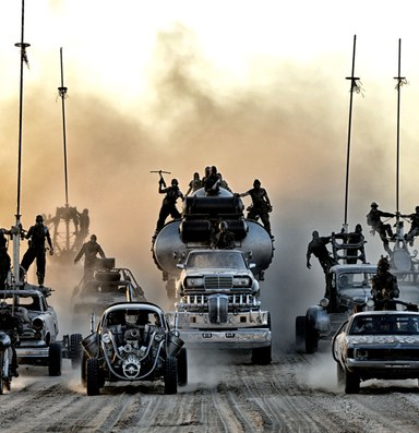 I have seen the future, and it looks like Mad Max