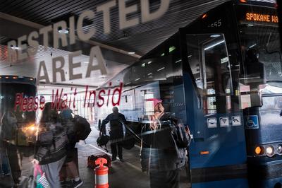 Greyhound passenger sues Border Patrol over Spokane interrogation