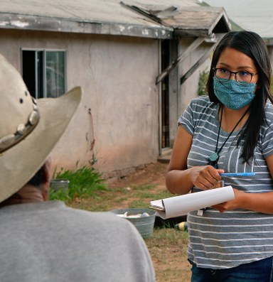 The Navajo Nation and White Mountain Apache Tribe chase down a virus
