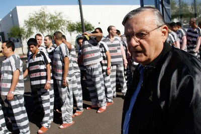 What Joe Arpaio represents in today's American West