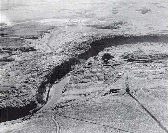 Glen Canyon, 1957.