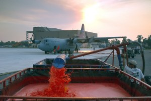 Latest: The Forest Service's use of fire retardant has doubled since 2014