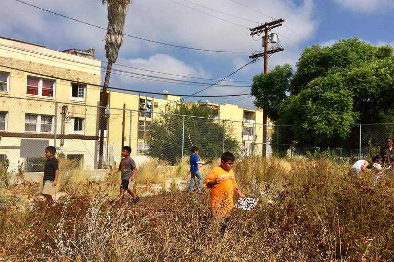 Only One Fourth Grader At California >> Students Explore Nature In Densely Built Los Angeles High Country News