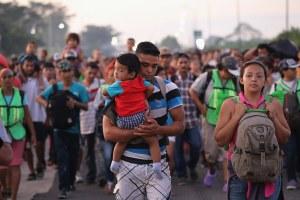 Migrants' endless walk north