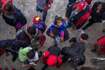Trump's false narrative of chaos at the border