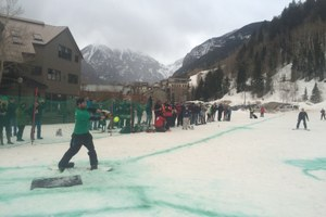 Lifties and ski patrol go head to head in Telluride