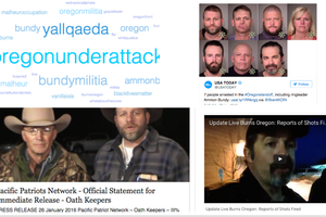Malheur arrests, as they happened on social media