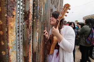Border wall divides lands, but not culture