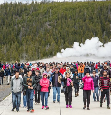 National parks endure rising visitation and less staff