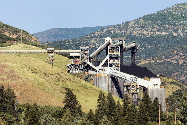 Coal is extracted at a Mountain Coal Company colliery in the mountains near Paonia, Colorado, U.S., on Thursday, July 30, 2009. The U.S., which holds the world's